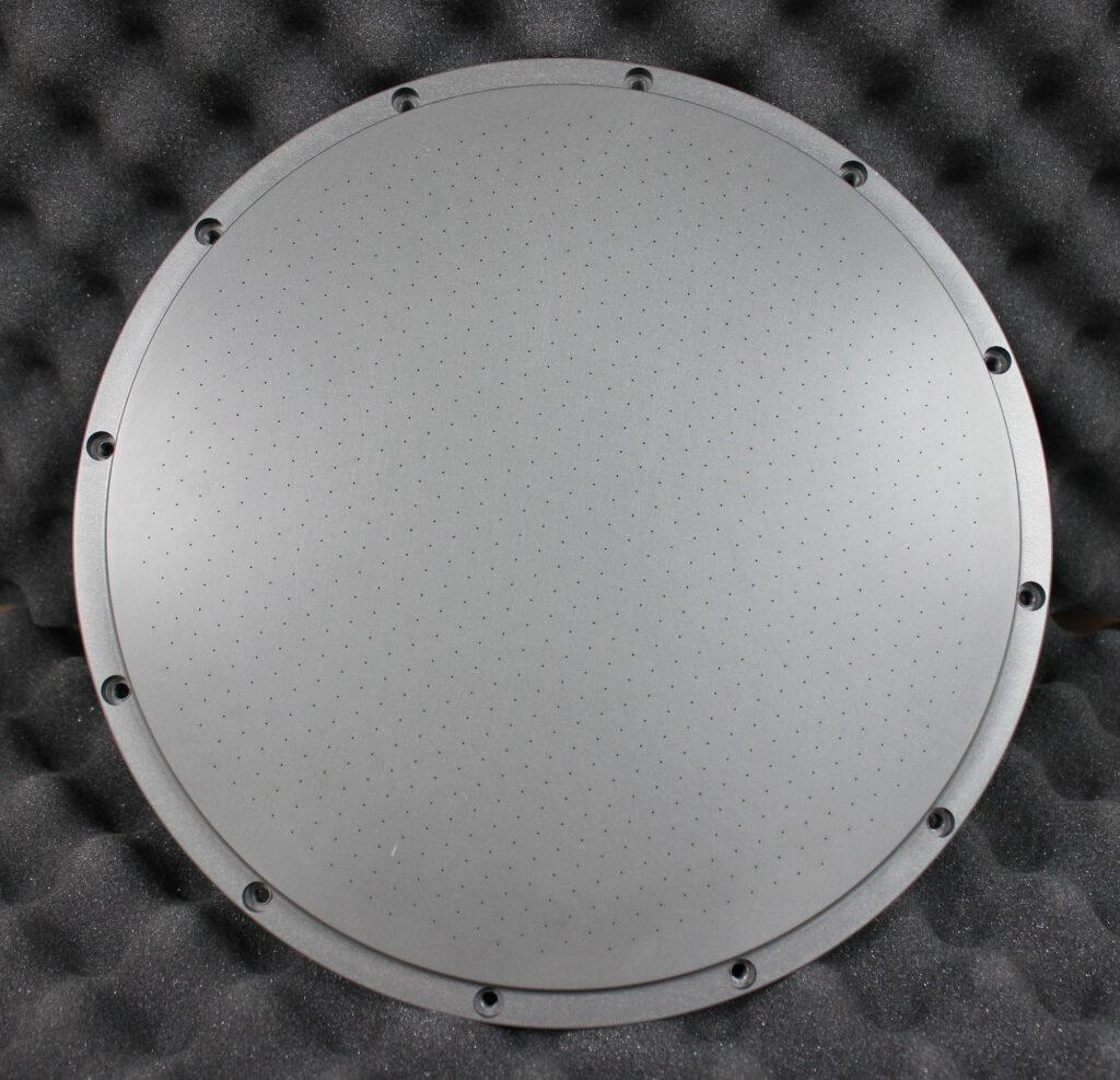 CNC-milling-semiconductor-showerhead