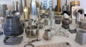 Group of Precision Machined Components