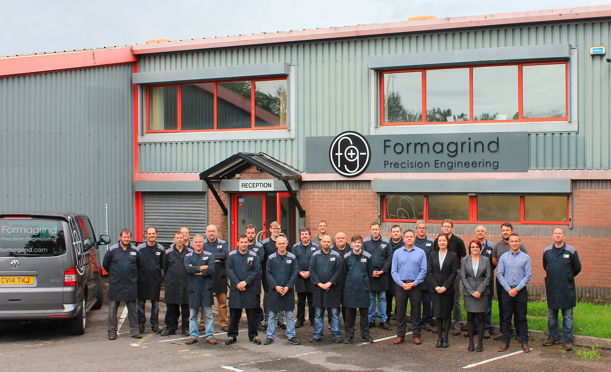 Formagrind Precision Engineering Team Photo